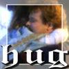 brightknightie: Fleur hugging Nick (Hug)