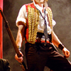pro_patria_mortuus: Killian Donnelly as Enjolras in the standard stage outfit (xylophone vest)