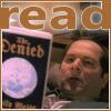 brightknightie: Schanke reading Emily's novel (Reads)