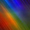 shadowspar: An abstract rainbow gradient (rainbow: evening shower mist)