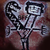 five_pm: painting of Naman and Sageeth from the Kawatche Caves with text 'BFF' (Default)