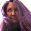 bethanyactually: me with purple hair (bethany purple hair)