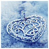 heartsteps: (frosted heart)