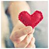 heartsteps: (plushy heart)