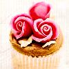 princess: (rose cupcake)