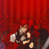 veleda_k: Grell and Madame Red from the manga Kuroshitsuji (Kuroshitsuji: Grell/Madame Red)