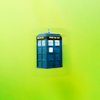 quietspring: Image: small TARDIS from Doctor Who. (tardis by juanxyo)
