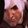 lassarina: Fenris from Dragon Age 2, looking fierce. (Fenris: fierce)