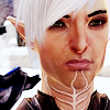 lassarina: Fenris from Dragon Age 2, looking serious (Fenris: serious)
