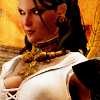 lassarina: Isabela from Dragon Age, with her bosom prominent (Isabela: Big Boats)