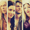 meridian_rose: legend of the seeker featuring richard, kahlan, zedd and cara (Legend of the Seeker: cara)