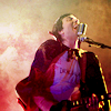 isweedan: Frank Iero with Dracula cape and guitar, singing into his mic with all his heart. (Vampire!Frank loves his mic! - Bandom -)