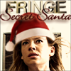 fringekink_mod: Olivia Dunham with flowing hair...and a Santa hat + caption (secret santa olivia)