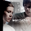 anghraine: leia and luke at the end of esb; text: warchildren (leia and luke [war])