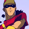 ficticons: an image of Roy Harper as Speedy in the animated Young Justice series (YJ speedy roy)