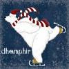 dhamphir: (dhamphir skating bear)