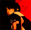 estirose: Masumi against a red and black background (Black and Red - Boukenger)
