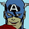 beast_trash: captain america from the 60's avenger cartoons getting a big idea. (GRAND IDEAS)