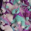 vaelkyr: a glorious bouquet of tiny stuffed unicorns (unicorn stampede)