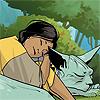 vaelkyr: sophie and lying cat cuddling (truth in cuddles)
