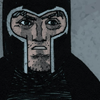 slash4femme: Magneto in his black helmet on from the 2014 Magneto solo series (X-Men: Magneto)