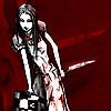 ashoakandthorn: Blood on knife. Sorry I stabbed you. (America McGee's Alice: Knifed)