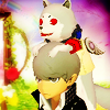 terabient: A dog is on your head. You are about to get married. (PQ: Koromaru is very excited...)
