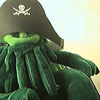 elfin: image: plushie cthulhu with pirate hat (cthulhu.arrrr...)