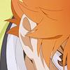 arranjar: Off-center close up of Hinata's right eye (fierce!hinata)