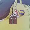 arranjar: Karasuno #1 girl's uniform keychain (keychain!karasuno)
