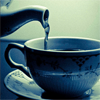 redsnake05: Blue cup and teapot (General: Tea)