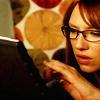 monanotlisa: Olivia Dunham in her glasses, browsing (olivia glasses - fringe)
