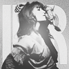 fascination: Black-and-white picture of Florence Welch posing. (Majestic.)