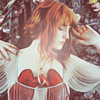 fascination: A crop of the cover of Florence + The Machine's 'Lungs' album (Between Two Lungs.)