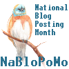 valiha: Badge used for the National Blog Posting Month (NaBloPoMo badge)