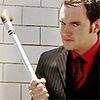 debmommy22: Silly Ianto kill magic glove (Ianto hocky stick funny)