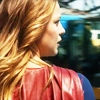 st_aurafina: Supergirl from behind, looking over her shoulder (Supergirl: looking over shoulder)