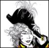 fengirl88: Head of a woman in 19th century military uniform (Arabella)