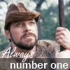 "syntaxofthings: A picture of Riker from Star Trek: TNG with the text ""Always Number One"" ([TNG] Always Number One)"