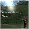"kabal42: Merlin walking towards Camelot - text ""Towards my destiny"" (Merlin - Towards my Destiny Merlin)"
