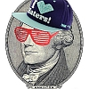 mecurtin: Alexander Hamilton bringin' sassy back, with shades and hat. Attitude is original equipment. (alexander-hamilton)