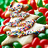 sholio: tree-shaped cookie (Christmas cookies)