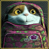 erinptah: Cat in a backpack (happy, cat)
