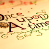 "rose_griffes: hand-written text: ""Once upon a time"" (once upon a time)"