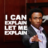 automaticdoor: an image of troy barnes from the tv show community with the text 'i can explain, let me explain' in all caps (troy i can explain)