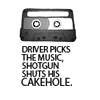ladydrace: (Driver picks the music)