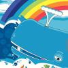 dickalong: (rainbow whale)