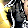 argurotoxos: Midnighter with a hand threaded through Apollo's hair (Midnighter/Apollo - hair)