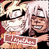swordage: Naruto and Sasuke being friendly. (x monsters)
