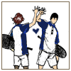 saezutte: (high five)